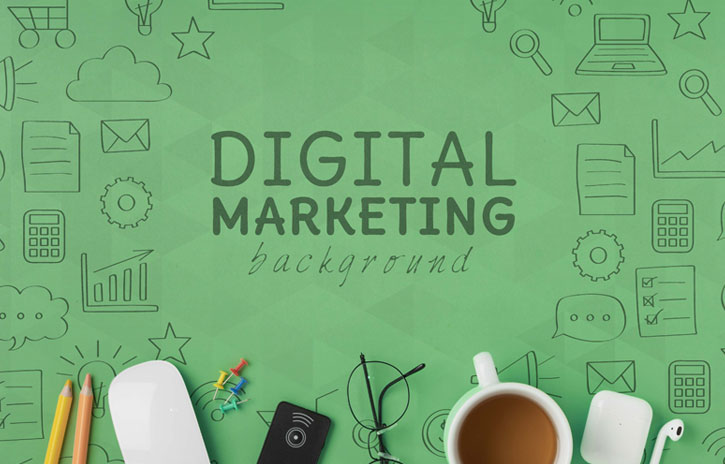 Digital Marketing banner - image download